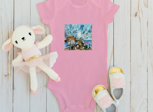 Noah's Ark Infant Fine Jersey Bodysuit