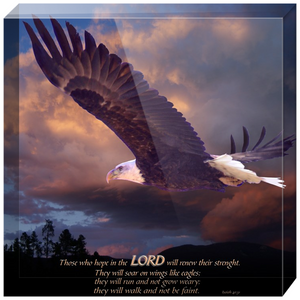 Isaiah 40 Acrylic Blocks