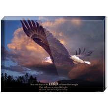 Load image into Gallery viewer, Isaiah 40 Acrylic Blocks