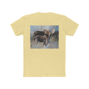 Moose & Calf Men's Cotton Crew Tee