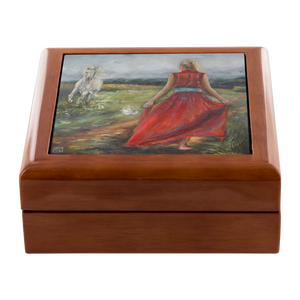 Walking In Righteousness Jewelry Box