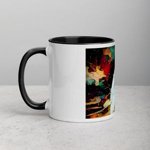 Heron Mug with Color Inside