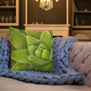 """Watered"" Art Pillow"