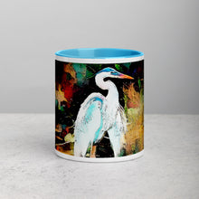 Laden Sie das Bild in den Galerie-Viewer, Heron Mug with Color Inside