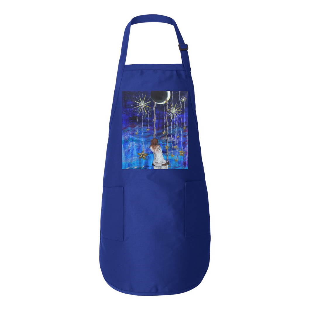 Dream Away Full-Length Apron with Pockets
