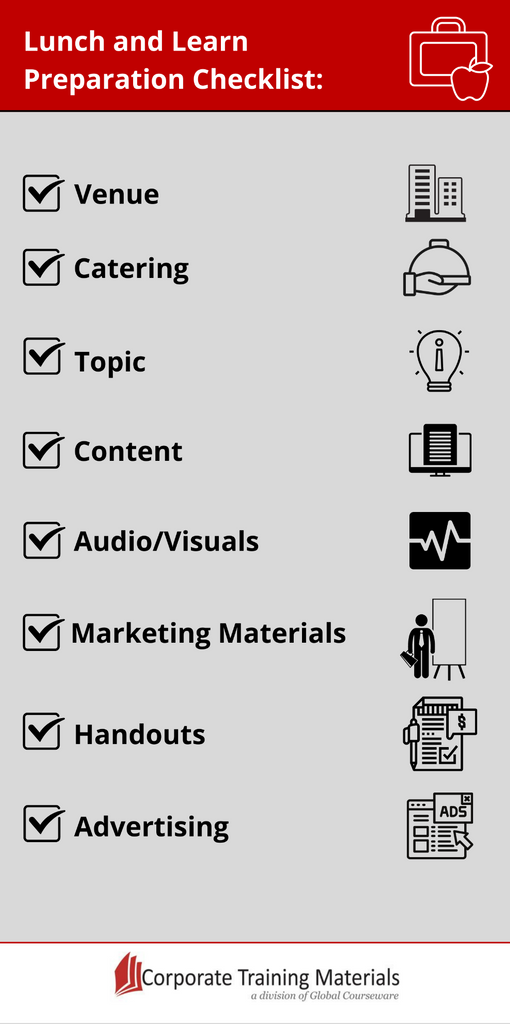 Lunch and Learn Checklist