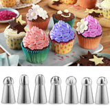 Cake Decor Russian Piping Nozzle Set