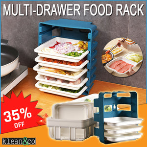 MULTI-DRAWER FOOD RACK