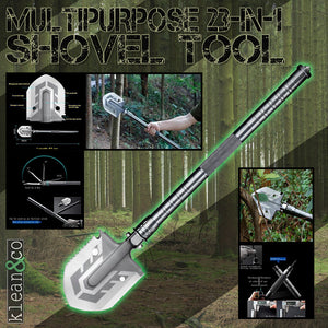 MULTIPURPOSE 23 IN 1 FOLDING SHOVEL TOOL