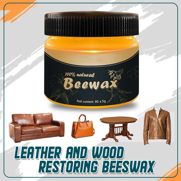 LEATHER AND WOOD RESTORING BEEWAX