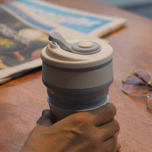 COLLAPSIBLE SILICONE COFFEE CUP [BUY 1 TAKE 1]