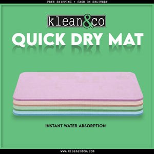 Bathroom Quick Dry Floor Mat