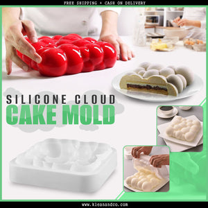 [Limited Edition] Klean and Co Silicone Cloud Cake Mold