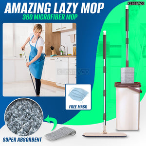 Amazing Lazy Mop (Free Mask)