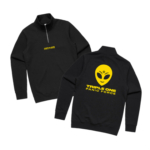 'PANIC FORCE' QUARTER ZIP