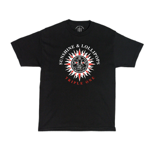 SUNSHINE T-SHIRT (BLACK)
