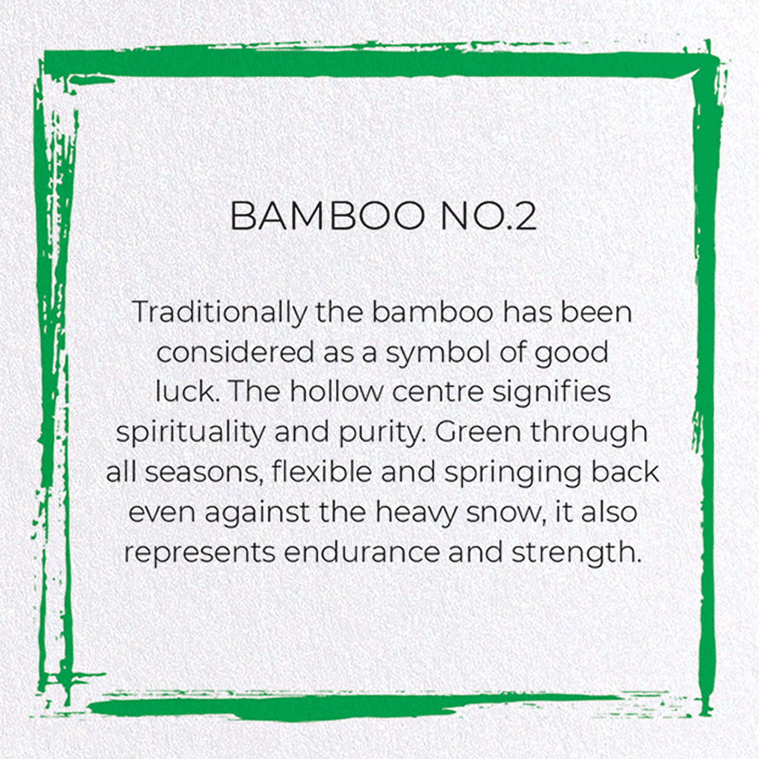 BAMBOO NO.2: 8xCards