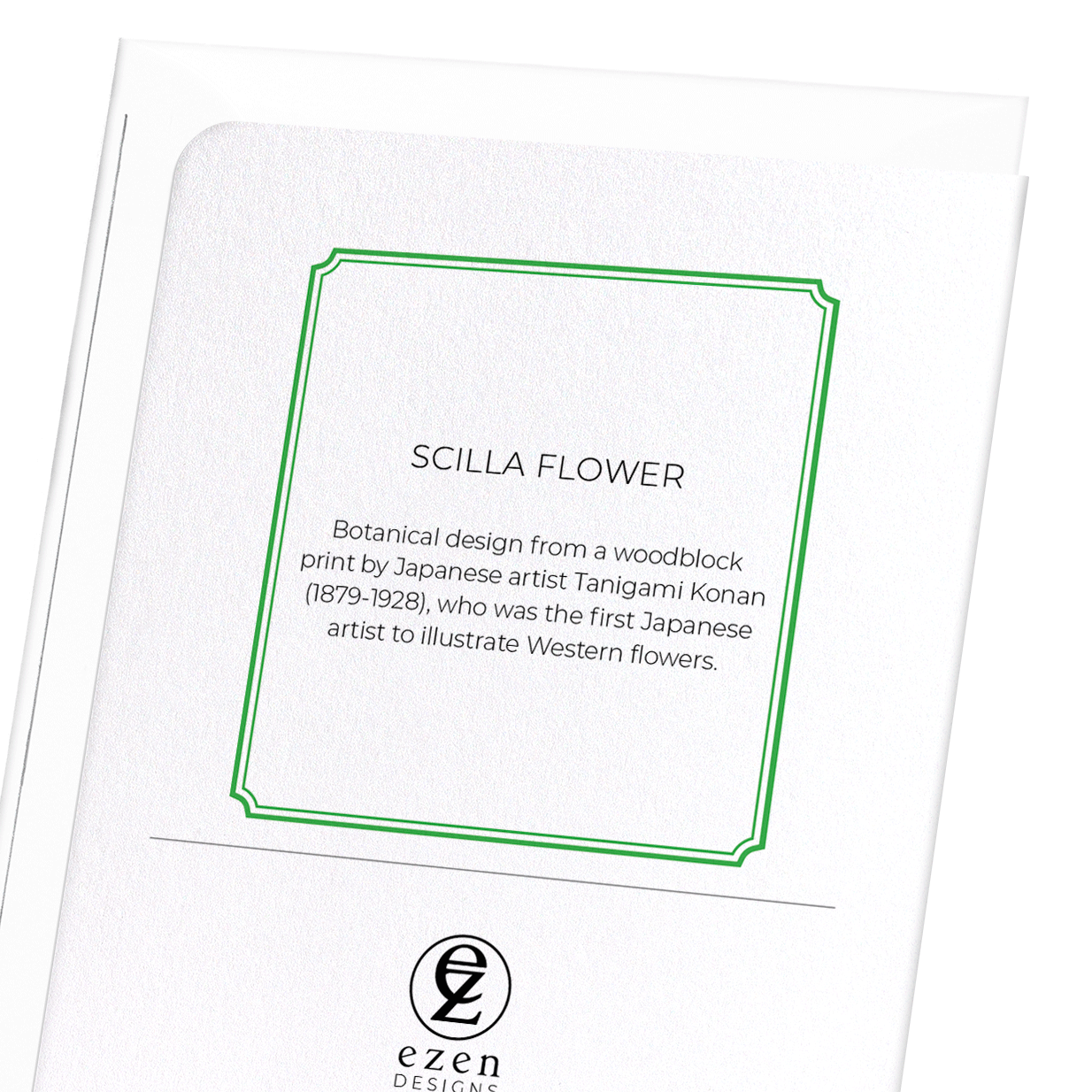 SCILLA FLOWER: 8xCards