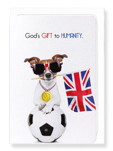 Ezen Designs - God's gift to humanity  - Greeting Card - Front