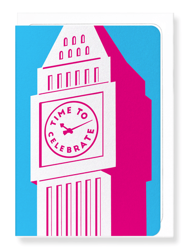 Ezen Designs - Celebration big ben - Greeting Card - Front
