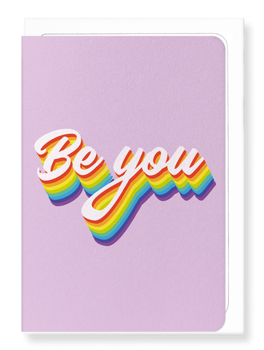 Ezen Designs - Be you - Greeting Card - Front