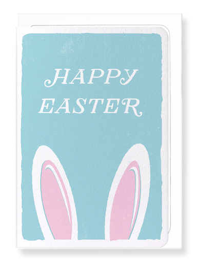 Ezen Designs - Happy easter bunny - Greeting Card - Front