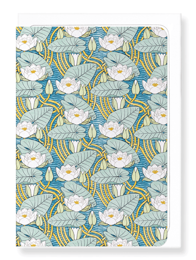 Ezen Designs - Water lily (1896) - Greeting Card - Front