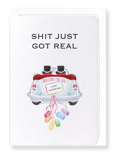 Ezen Designs - Mr & Mr for real - Greeting Card - Front