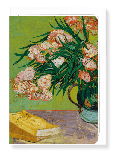 Ezen Designs - Oleanders (1888) - Greeting Card - Front