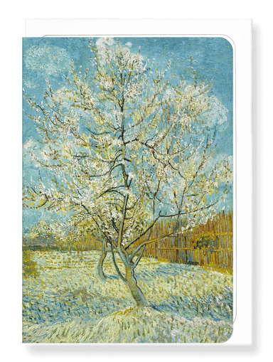 Ezen Designs - The pink peach tree (1888) - Greeting Card - Front