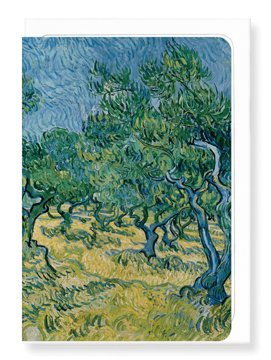 Ezen Designs - Olive grove (1889) - Greeting Card - Front