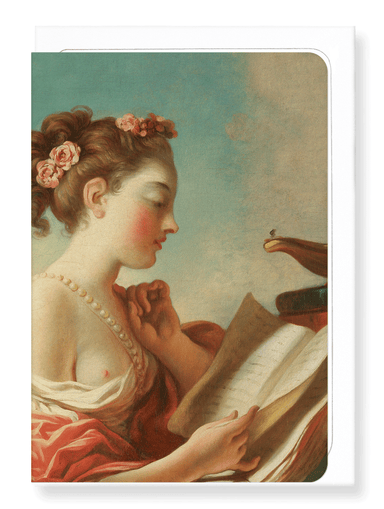 Ezen Designs - Allegory of vigilance (C.1772) - Greeting Card - Front