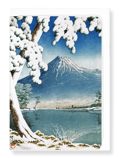 Ezen Designs - Lingering snow - Greeting Card - Front