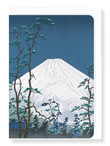 Ezen Designs - Mount fuji in hakone - Greeting Card - Front