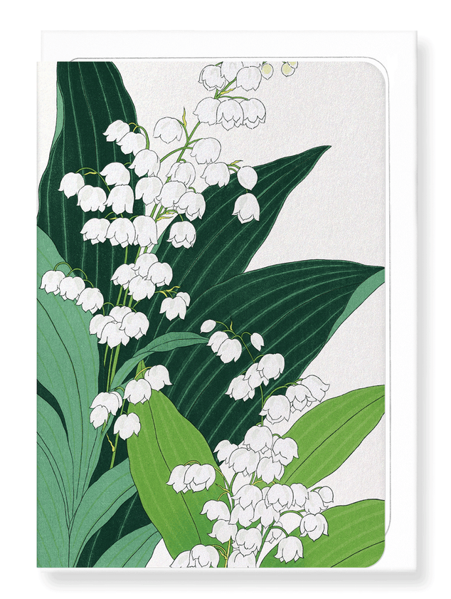Ezen Designs - Lily of the valley - Greeting Card - Front