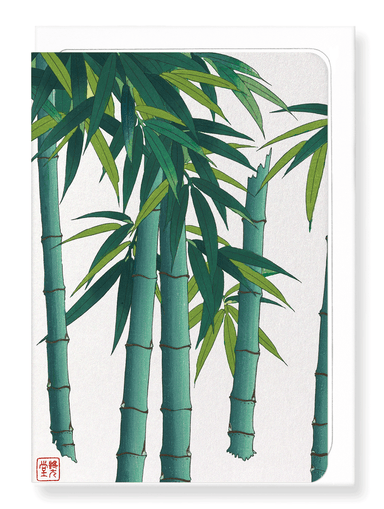 Ezen Designs - Bamboo no.3 - Greeting Card - Front