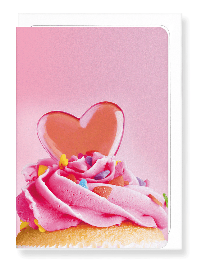 Ezen Designs - Sweet cupcake - Greeting Card - Front