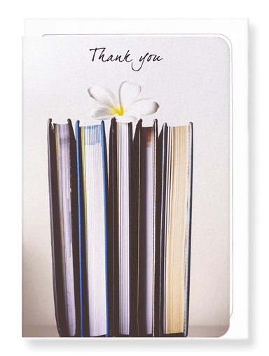 Ezen Designs - Flower of thanks - Greeting Card - Front