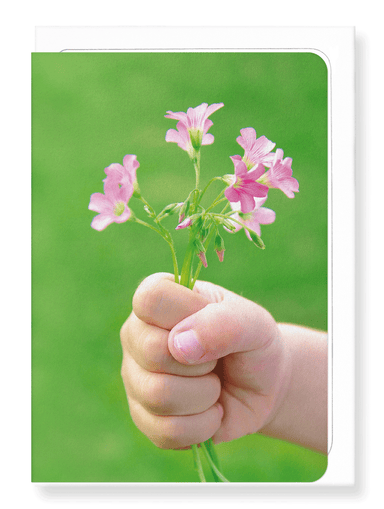 Ezen Designs - Bunch of flowers - Greeting Card - Front