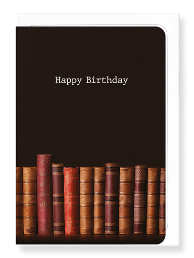 Ezen Designs - Healthy birthday reading - Greeting Card - Front