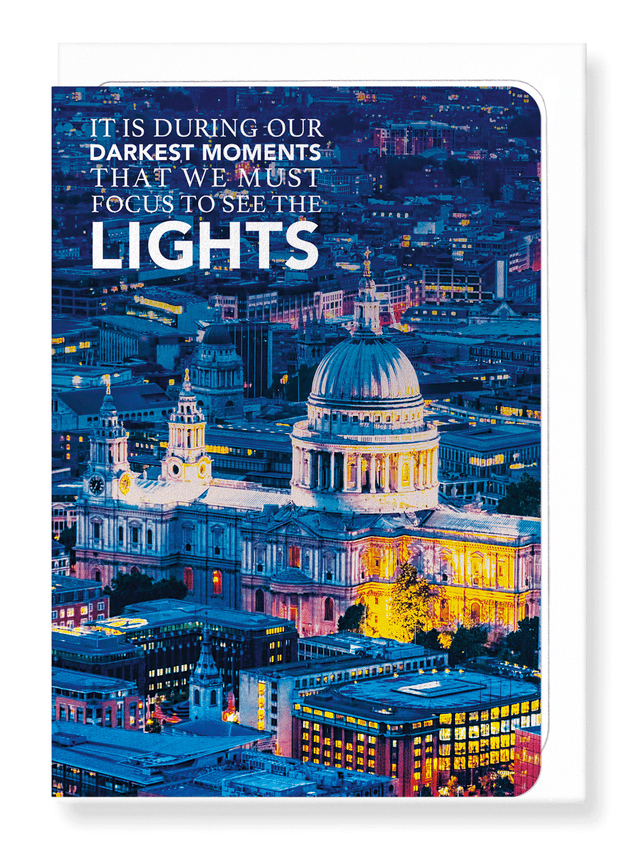 Ezen Designs - See the light - Greeting Card - Front