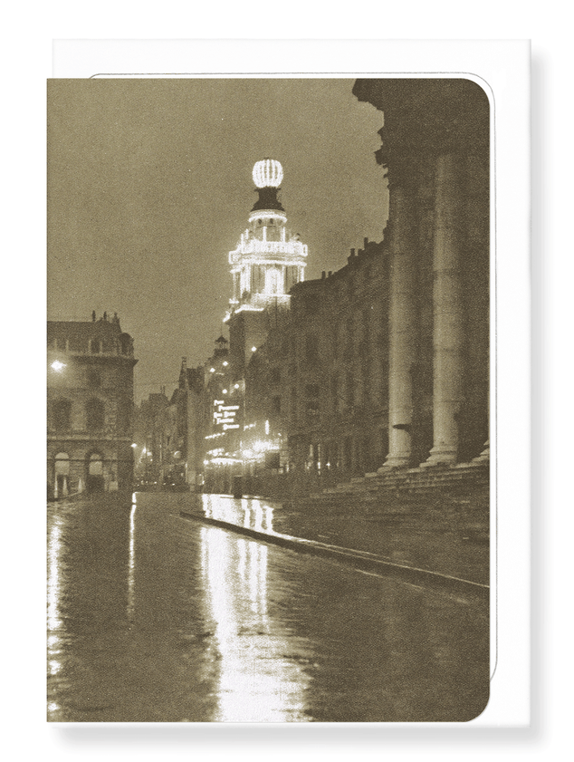 Ezen Designs - London coliseum - Greeting Card - Front