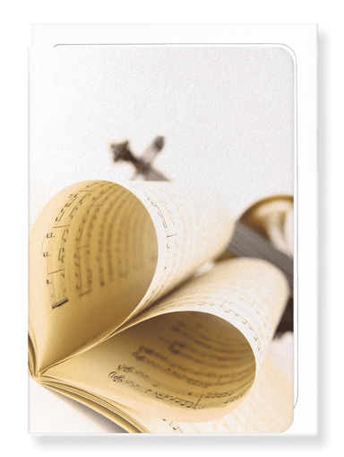 Ezen Designs - Love for music - Greeting Card - Front