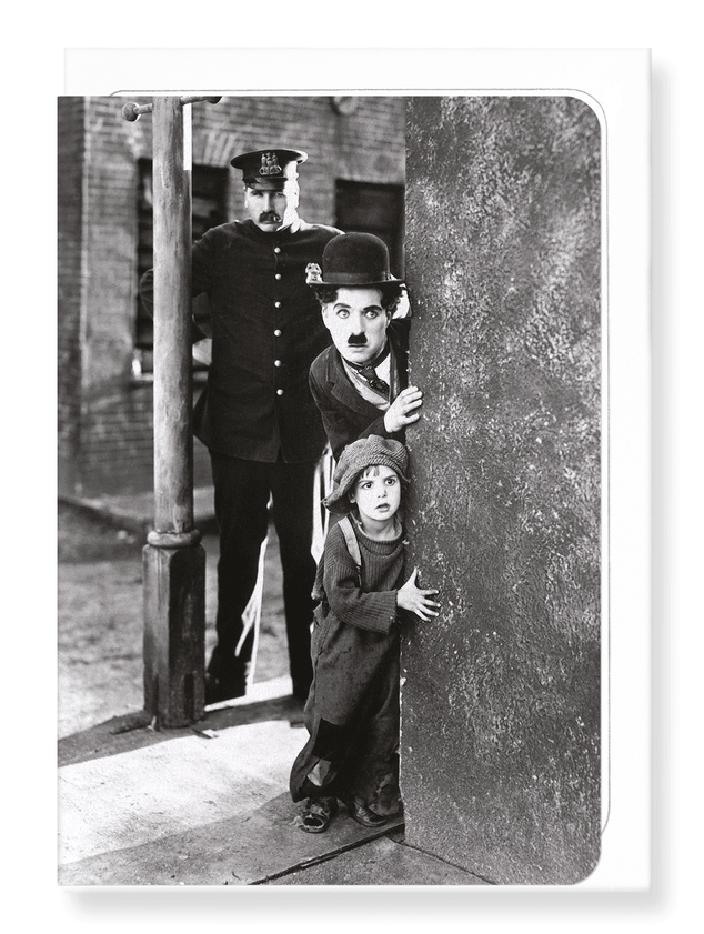 Ezen Designs - The Kid (1921) No.2 - Greeting Card - Front
