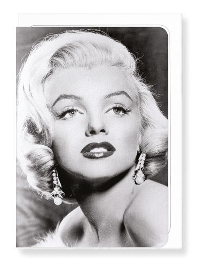 Ezen Designs - Monroe studio portrait  - Greeting Card - Front