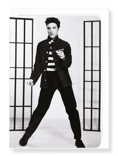 Ezen Designs - Jailhouse rock No.3 - Greeting Card - Front