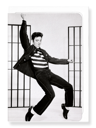 Ezen Designs - Jailhouse rock No.1 - Greeting Card - Front