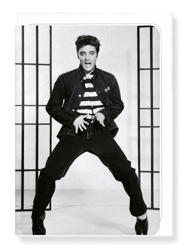 Ezen Designs - Jailhouse rock No.2 - Greeting Card - Front