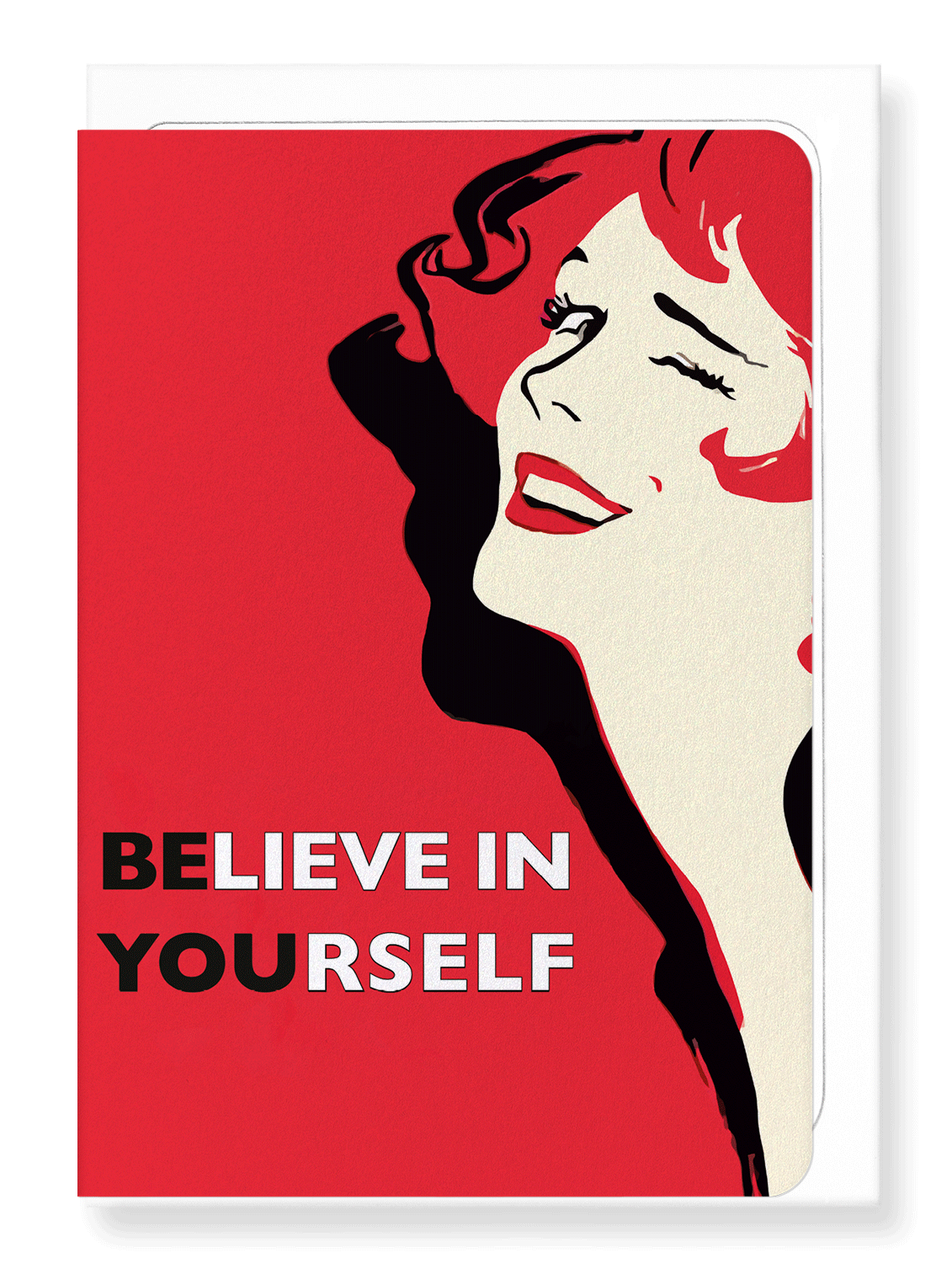 Ezen Designs - Believe in yourself - Greeting Card - Front