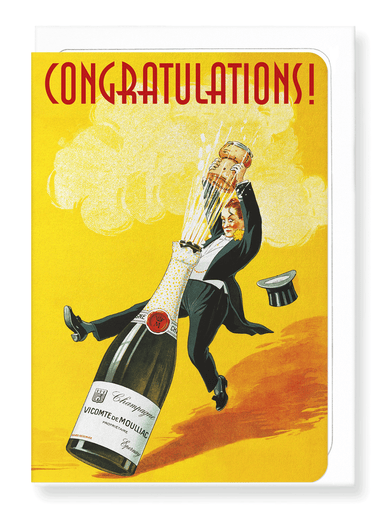 Ezen Designs - Congratulations pop - Greeting Card - Front